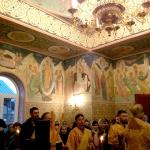 25 декабря 2015 г. Литургия и освящение росписи часовни